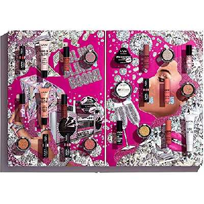 NYX Professional Makeup Kit de Maquillage Diamonds and Ice Please, 24 Produits, Sélection Variée de Maquillage pour Yeux, Lèvres et Visage, Cadeau Idéal pour les Amateurs de Maquillage