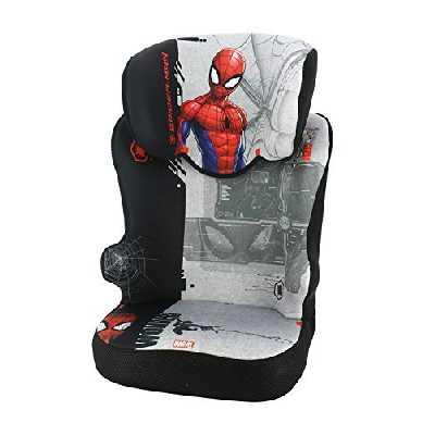 Siège auto rehausseur avec dossier STARTER groupe 2/3 (15-36kg), fabriqué en France - Spiderman