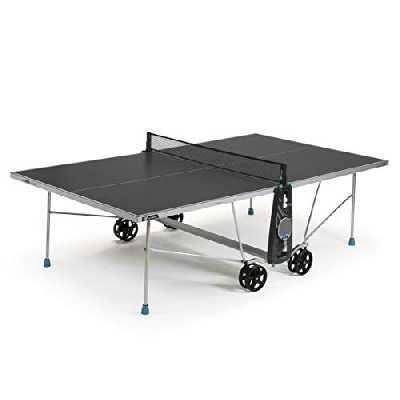Cornilleau 100X Outdoor Table de Ping Pong d'Extérieur (Gris)