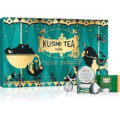 Calendrier de l'Avent Bio - Kusmi Tea - 24 surprises pour les amateurs de thés et infusions bio