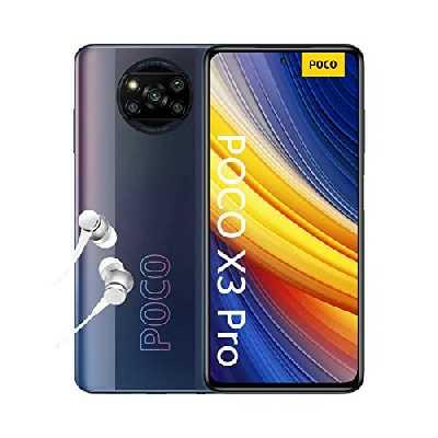 """POCO X3 Pro - Smartphone 8+256GB, 6,67"""" 120Hz FHD+ DotDisplay, Snapdragon 860, 48MP Quad Caméra, 5160mAh, Noir Fantôme (Version française + 2 ans de garantie) Exclusivité Amazon"""