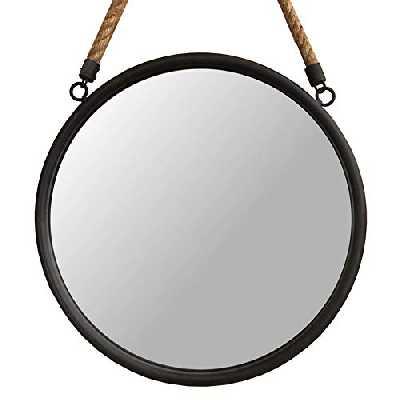 L'ORIGINALE DECO Miroir Murale Style Miroir Hublot Fenêtre Miroir Industriel ø35 cm