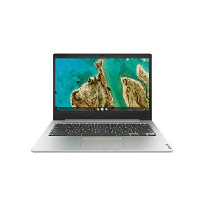 Lenovo Chromebook IdeaPad 3 14IGL05 Ordinateur Portable 14'' HD Gris Platine (Celeron N4020, RAM 4 Go, eMMC 64 Go, Chrome OS) Clavier AZERTY Français