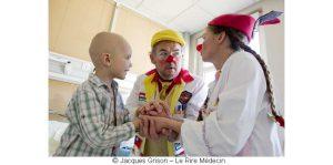 Soutenez gratuitement l'association Le Rire Médecin