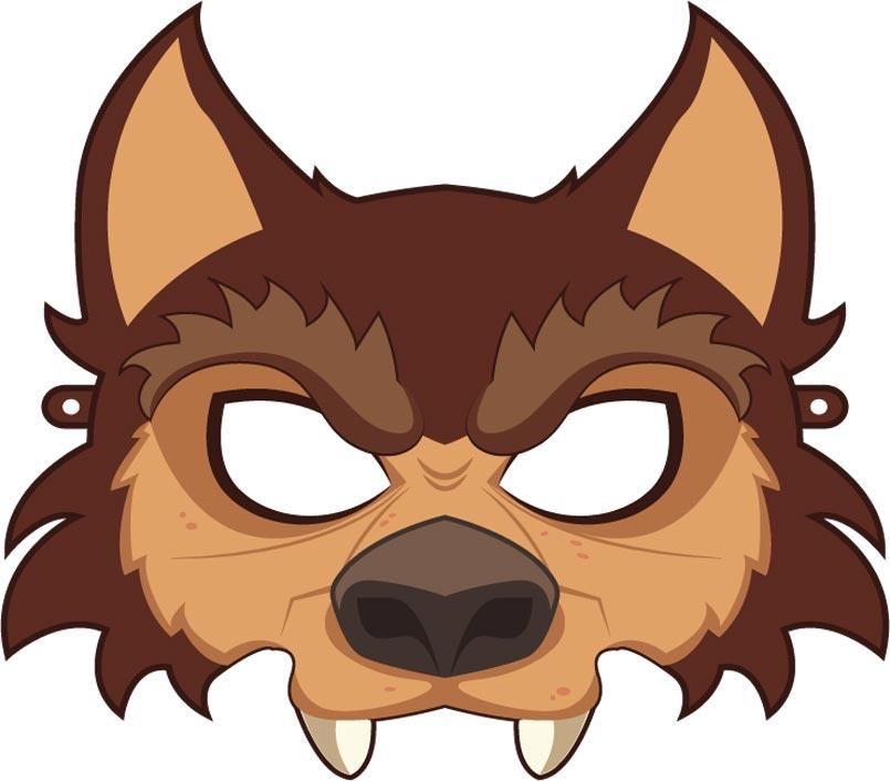 masque halloween loup