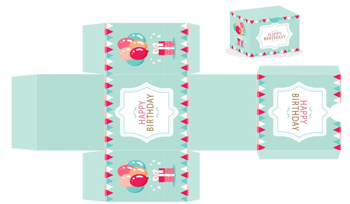 Joyeux anniversaire comment le souhaiter youprix - Decorer boite carton pour anniversaire ...