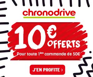Coupons reductions chronodrive