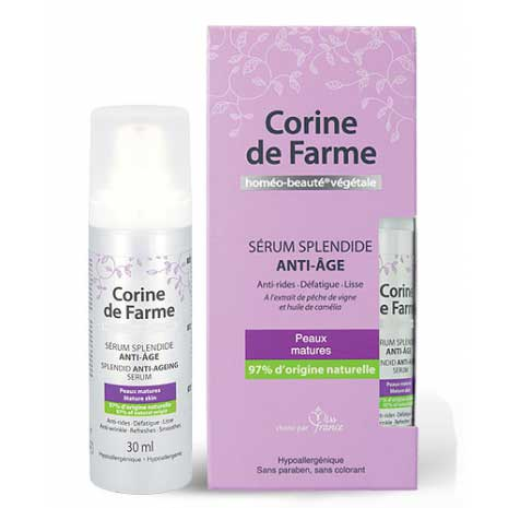 serum anti-age gratuit corine de farme