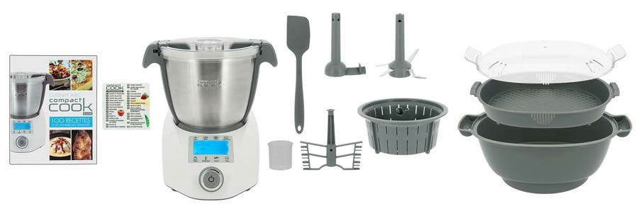 Compact cook equipements