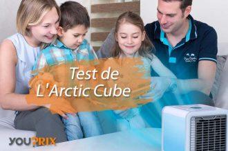Arctic Cube avis sur le cube climatiseur