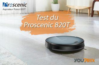 Proscenic 820T : le meilleur robot aspirateur laveur 2 en 1 ?