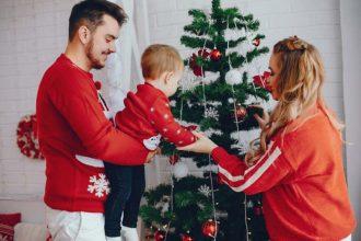 Pull de Noël pour toute la famille
