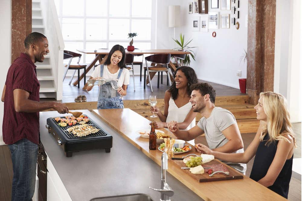 barbecue sans fumee tefal