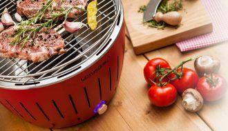 Lotus Grill avis sur le barbecue nomade à charbon sans fumée