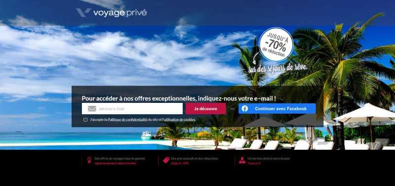 Voyage Prive vente privée voyage