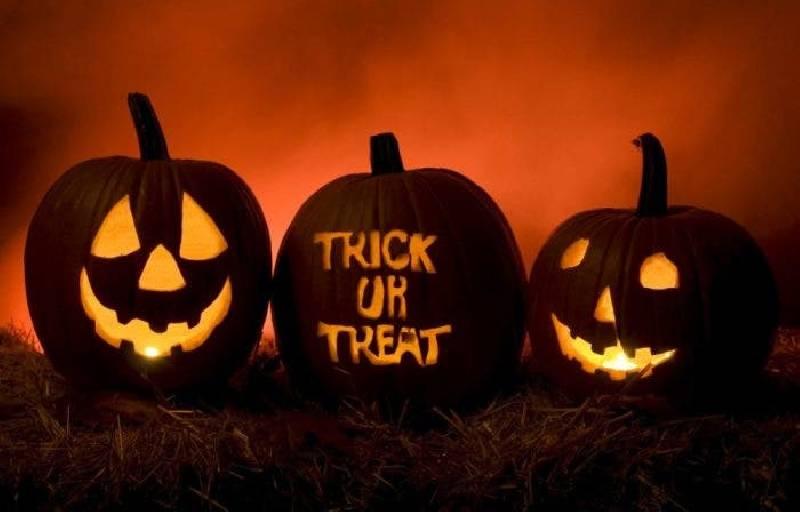 bonbons ou farce hallowen